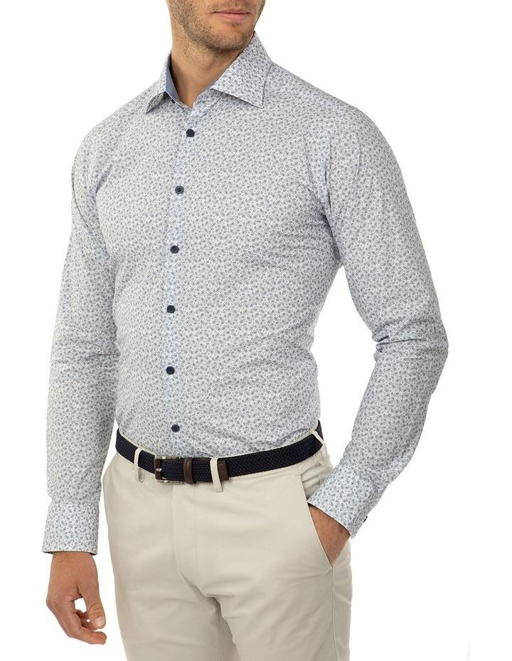 Slim Fit Blue Dayton Shirt image 2