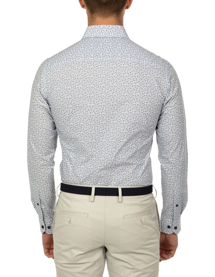 Slim Fit Blue Dayton Shirt image 3