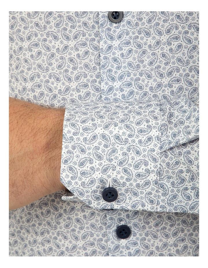 Slim Fit Blue Dayton Shirt image 4