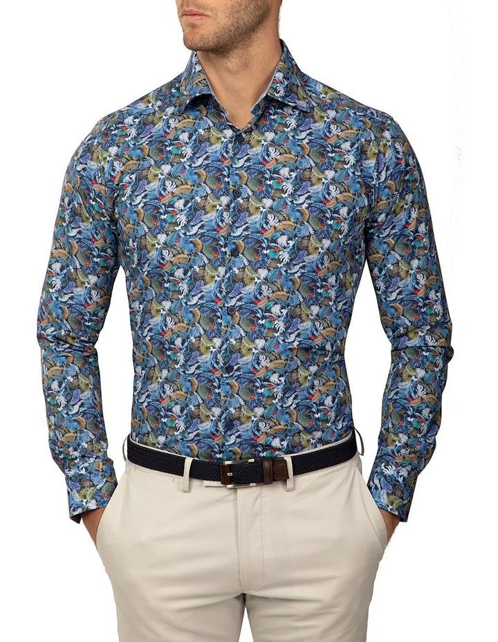 Slim Fit Print Dayton Shirt image 1