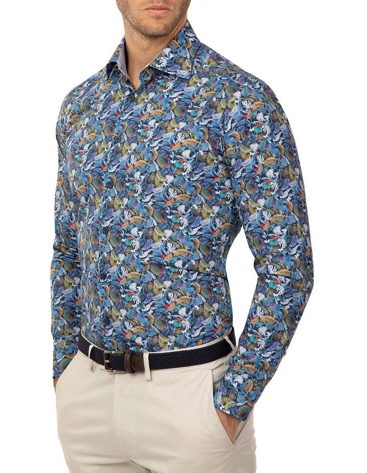 Slim Fit Print Dayton Shirt image 2