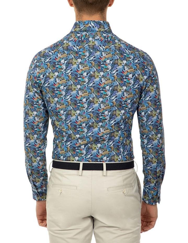 Slim Fit Print Dayton Shirt image 3