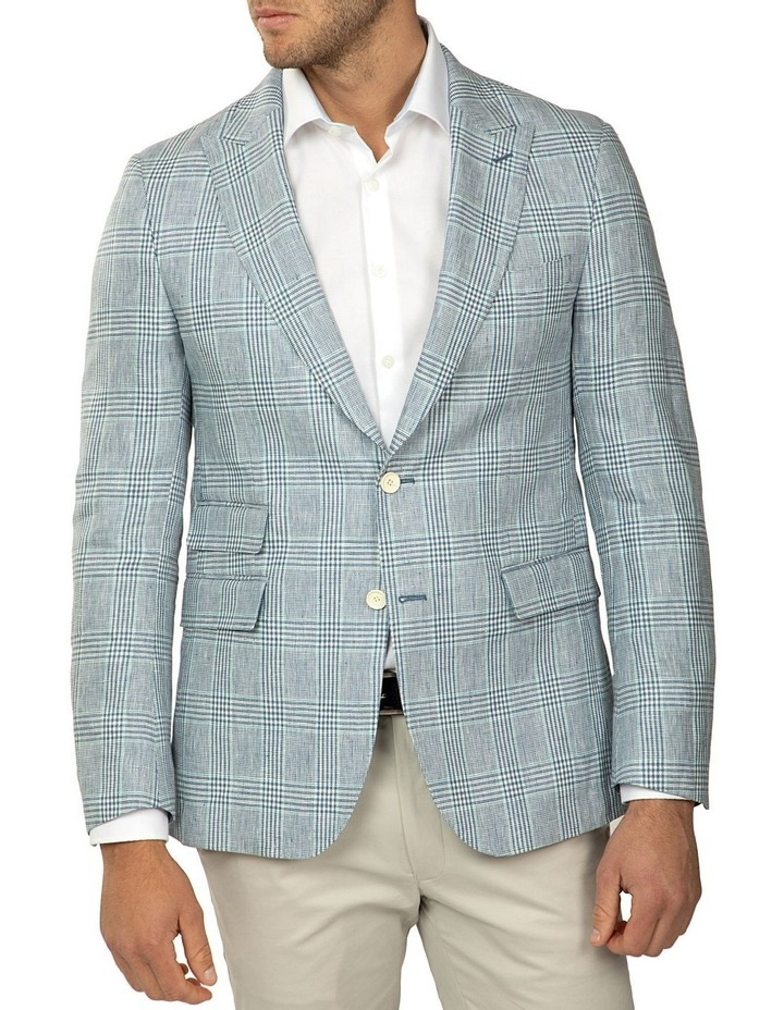 Tailored Fit Prince of Wales Check Benton Jacket image 1