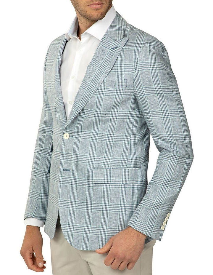 Tailored Fit Prince of Wales Check Benton Jacket image 2