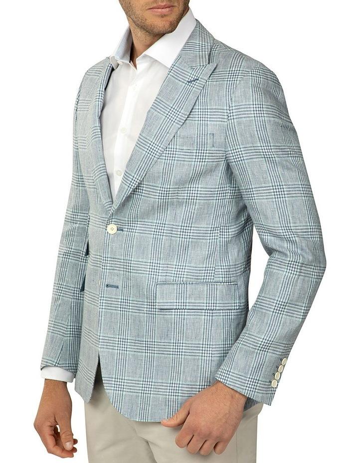 Sky Prince of Wales Check Benton Jacket image 2