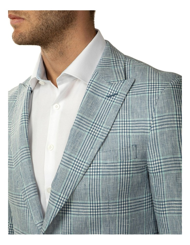 Tailored Fit Prince of Wales Check Benton Jacket image 4