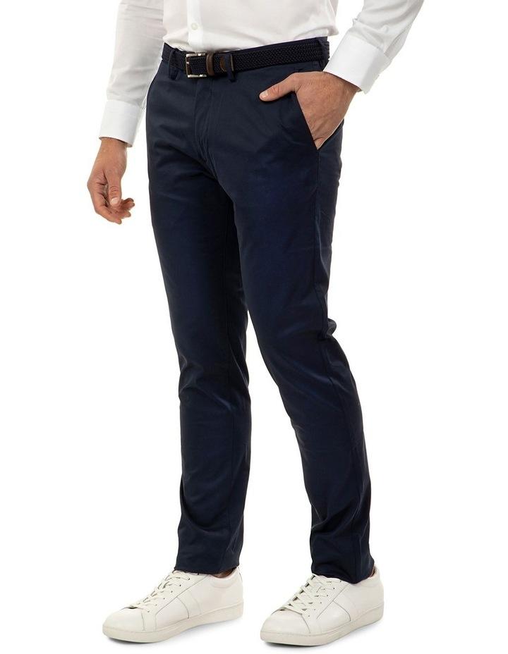 Slim Fit Navy Luca Chino Pant image 2
