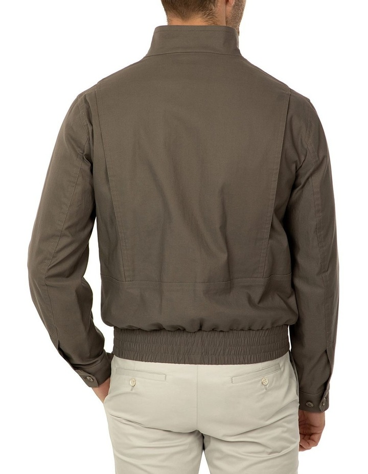 Taupe Bowman Bombers Jacket image 3