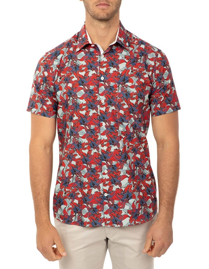 Short Sleeve Red Merritt Shirt image 1