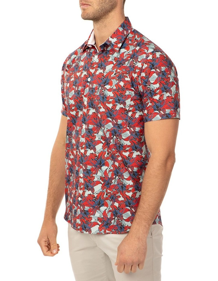 Short Sleeve Red Merritt Shirt image 2