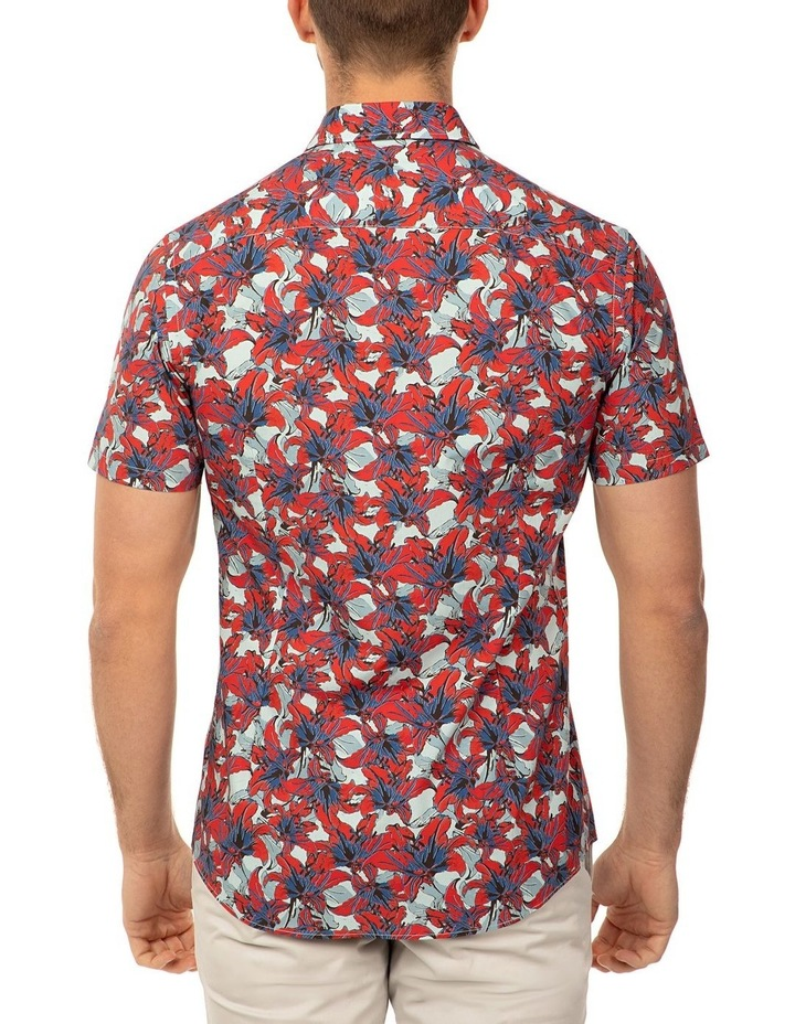 Short Sleeve Red Merritt Shirt image 3