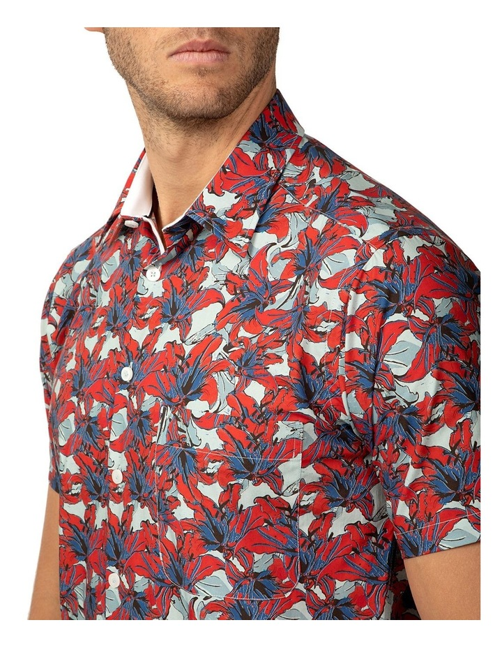 Short Sleeve Red Merritt Shirt image 4