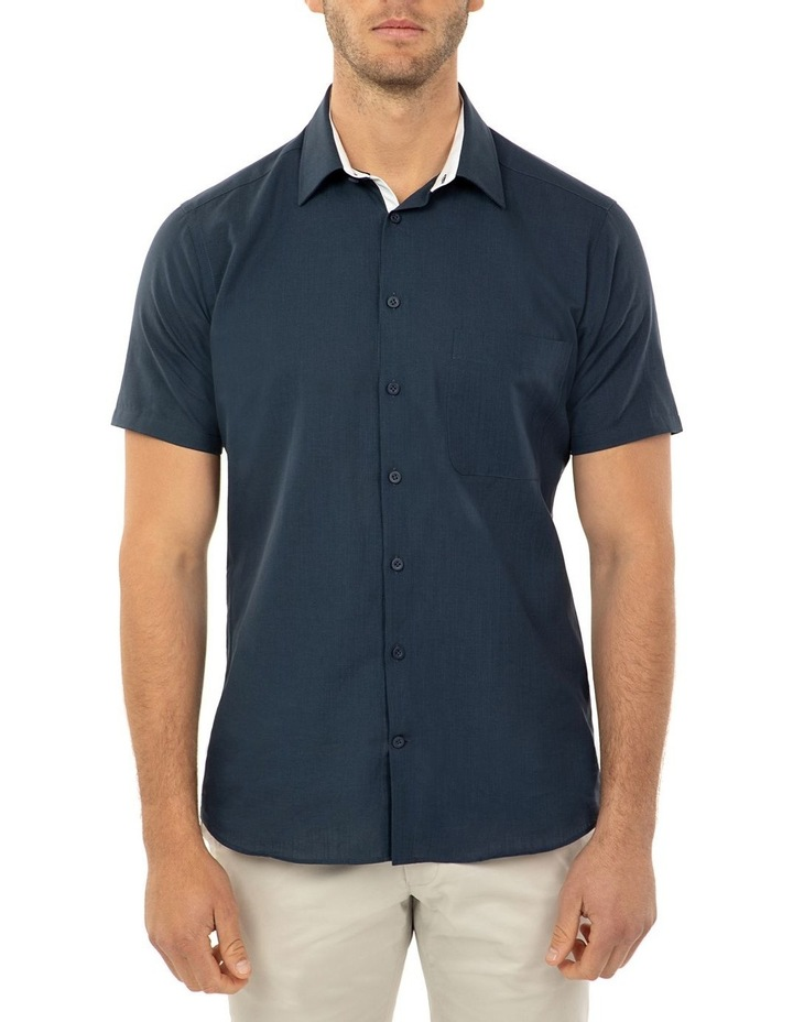 Short Sleeve Navy Merritt Shirt image 1