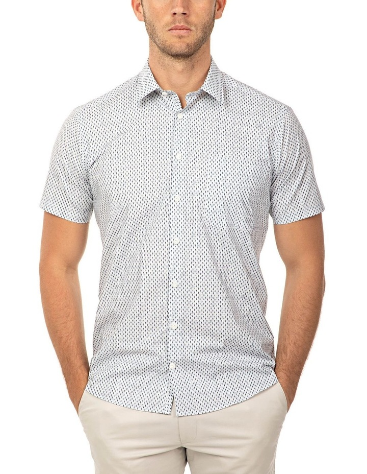 Short Sleeve Grey Merritt Shirt image 1