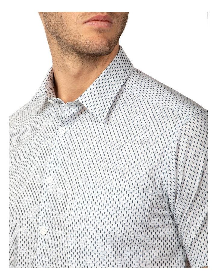 Short Sleeve Grey Merritt Shirt image 4