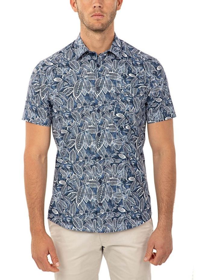 Short Sleeve Floral Print Merritt Shirt image 1