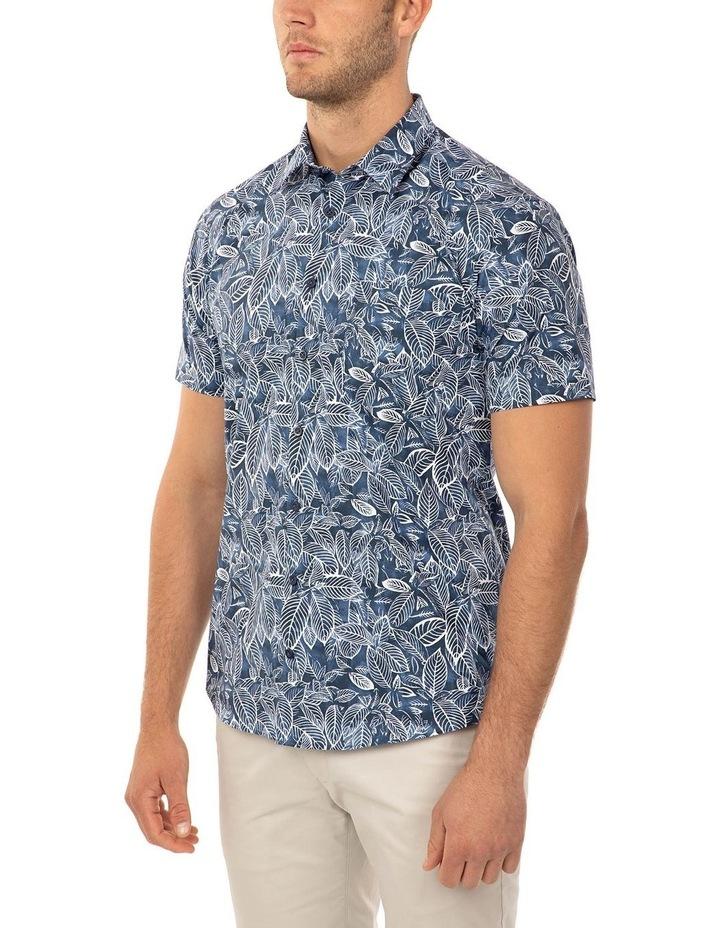 Short Sleeve Floral Print Merritt Shirt image 2