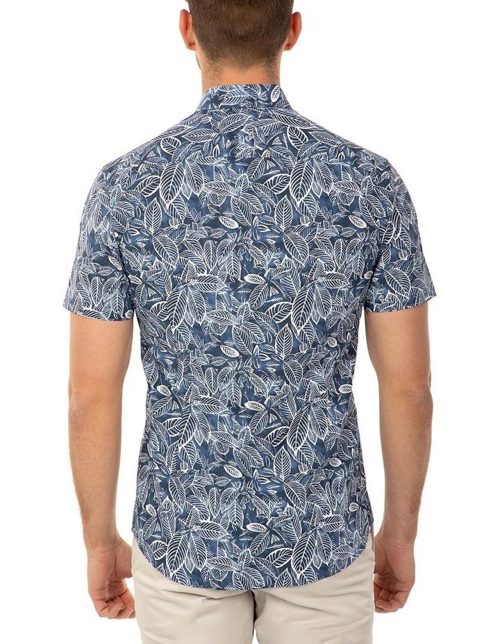 Short Sleeve Floral Print Merritt Shirt image 3