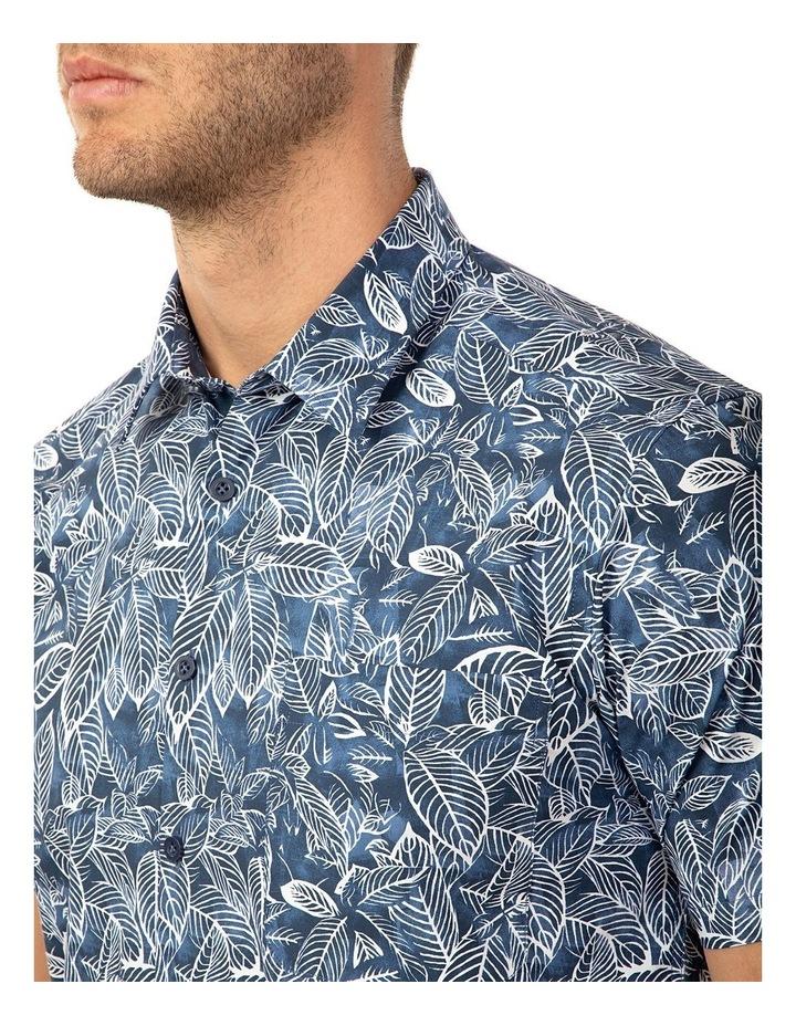 Short Sleeve Floral Print Merritt Shirt image 4