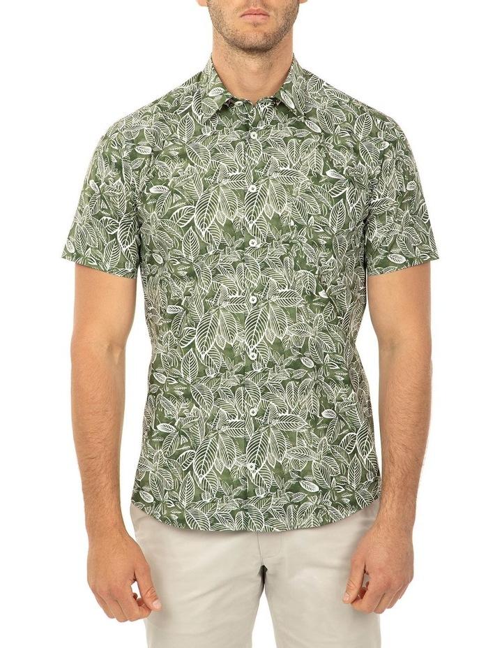 Short Sleeve Olive Merritt Shirt image 1