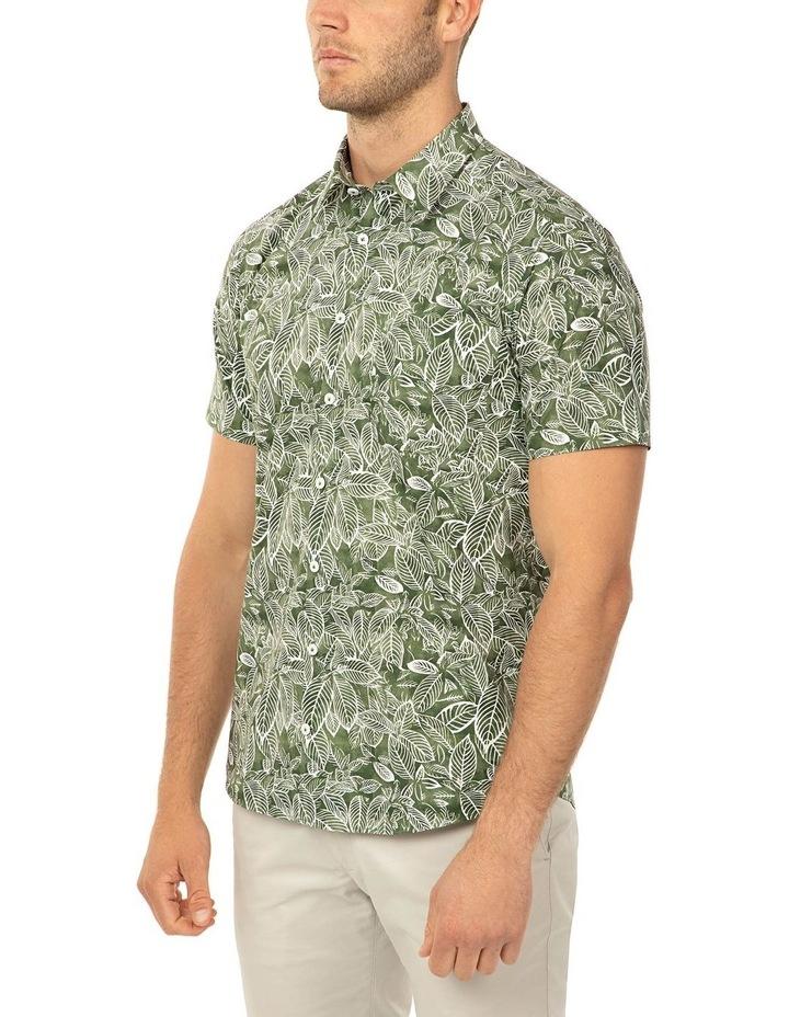 Short Sleeve Olive Merritt Shirt image 2