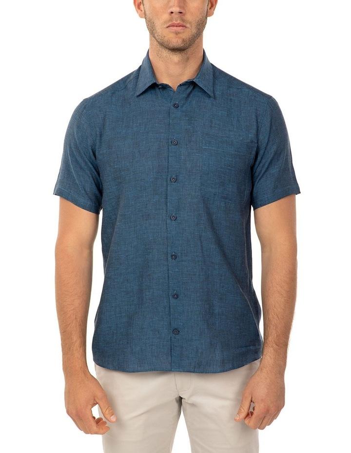 Short Sleeve Indigo Merritt Shirt image 1