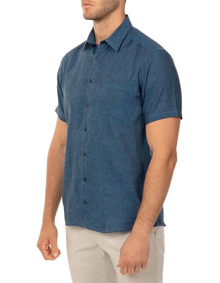 Short Sleeve Indigo Merritt Shirt image 2