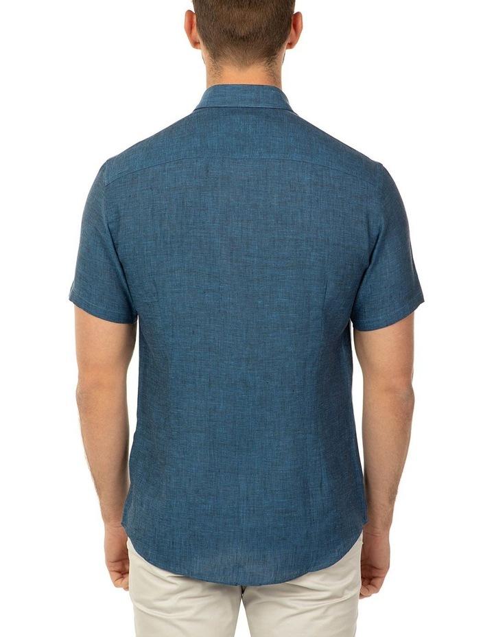 Short Sleeve Indigo Merritt Shirt image 3