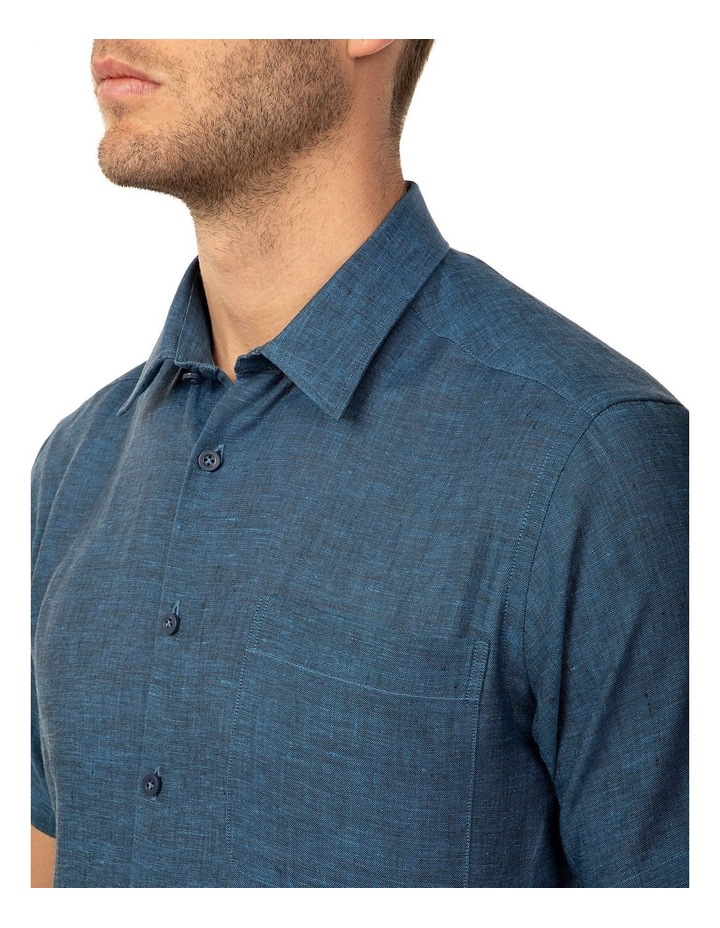 Short Sleeve Indigo Merritt Shirt image 4