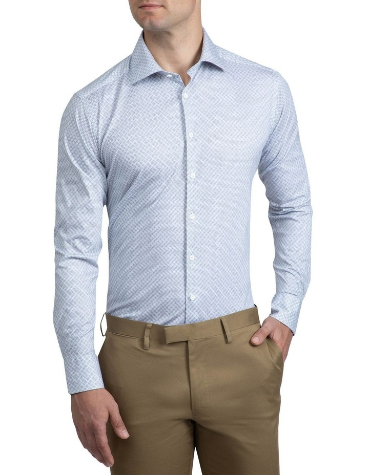 Navy Geometric Bryson Shirt image 1