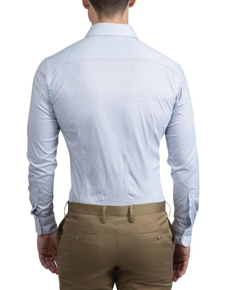 Navy Geometric Bryson Shirt image 3