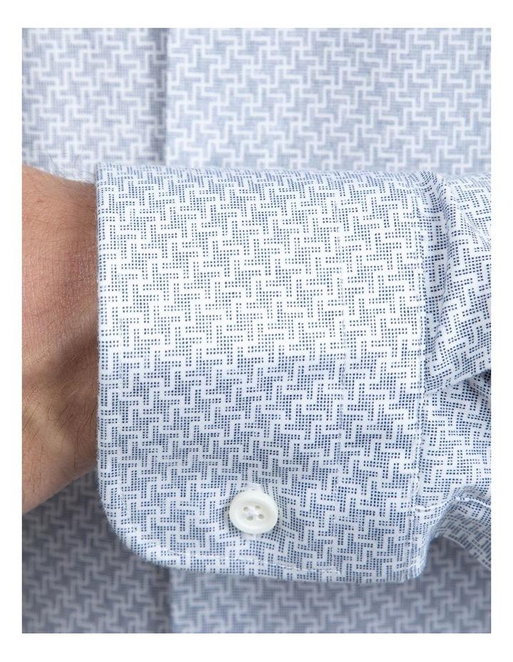 Navy Geometric Bryson Shirt image 4