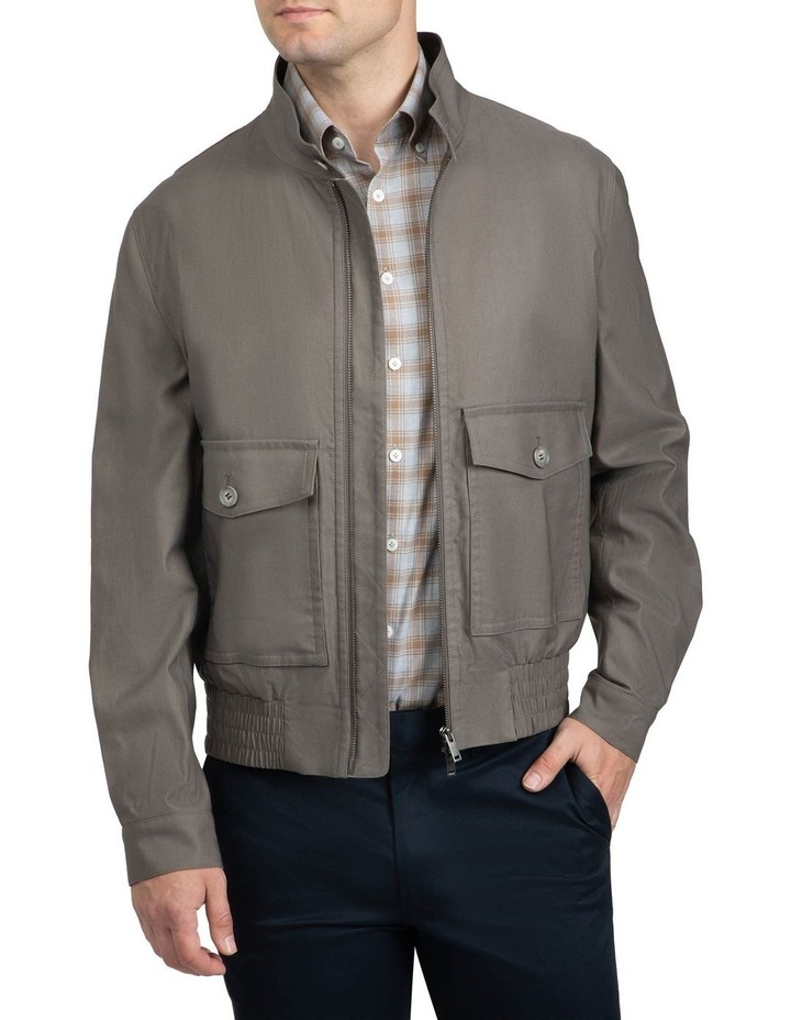 Taupe Bowman Bomber image 1