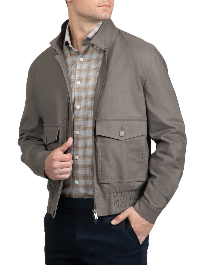 Taupe Bowman Bomber image 2