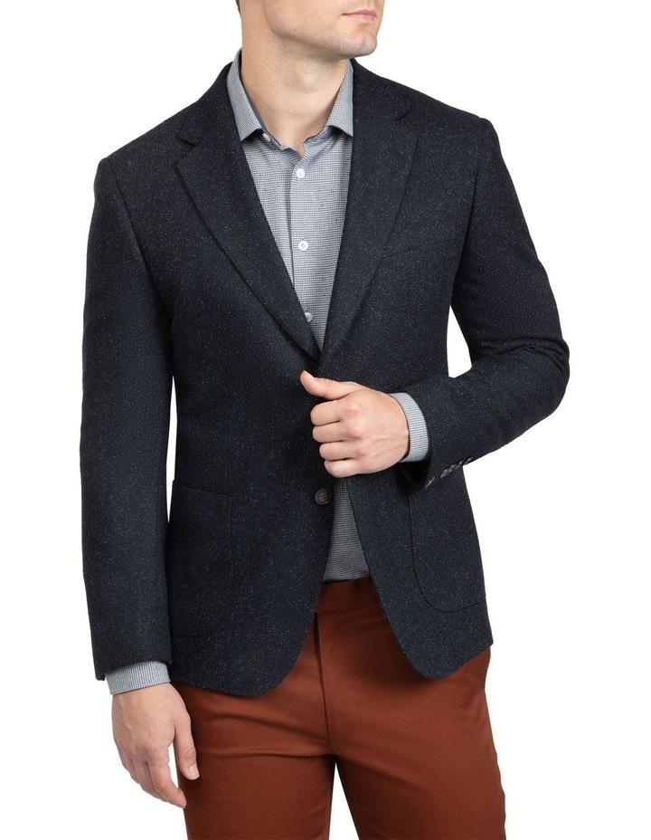 Black Slim Fit Garnett Jacket image 1