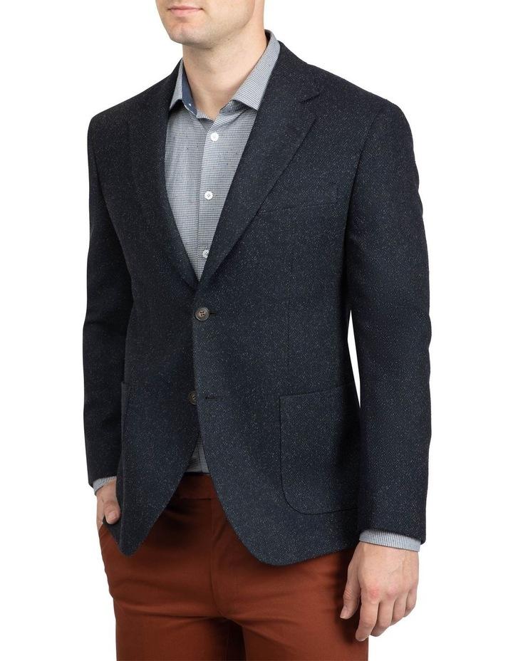 Black Slim Fit Garnett Jacket image 2