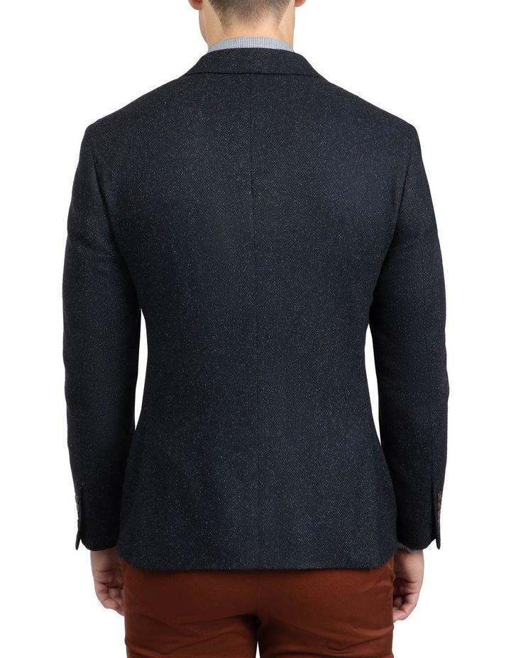 Black Slim Fit Garnett Jacket image 3