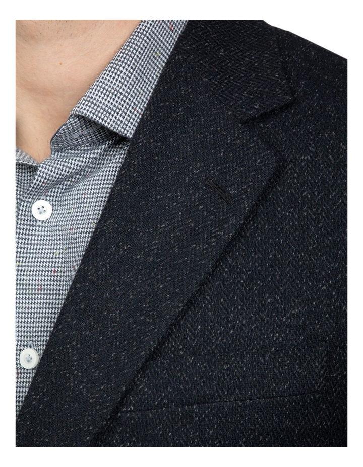 Black Slim Fit Garnett Jacket image 4