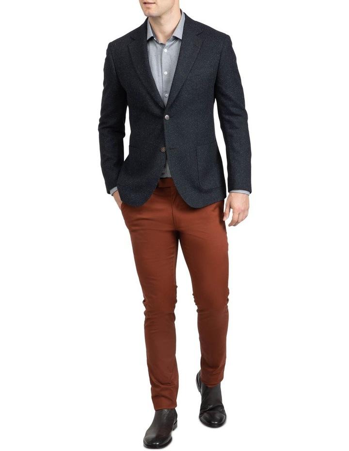 Black Slim Fit Garnett Jacket image 5