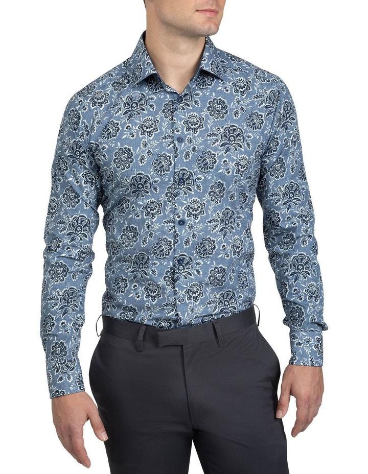Denim Floral Bryson Shirt image 1