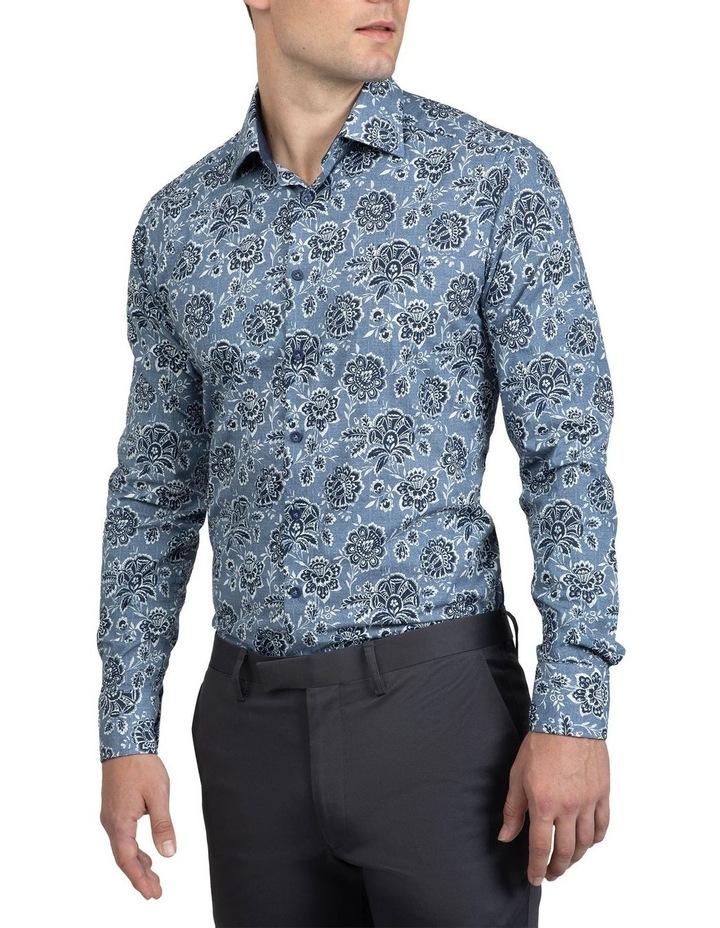 Denim Floral Bryson Shirt image 2