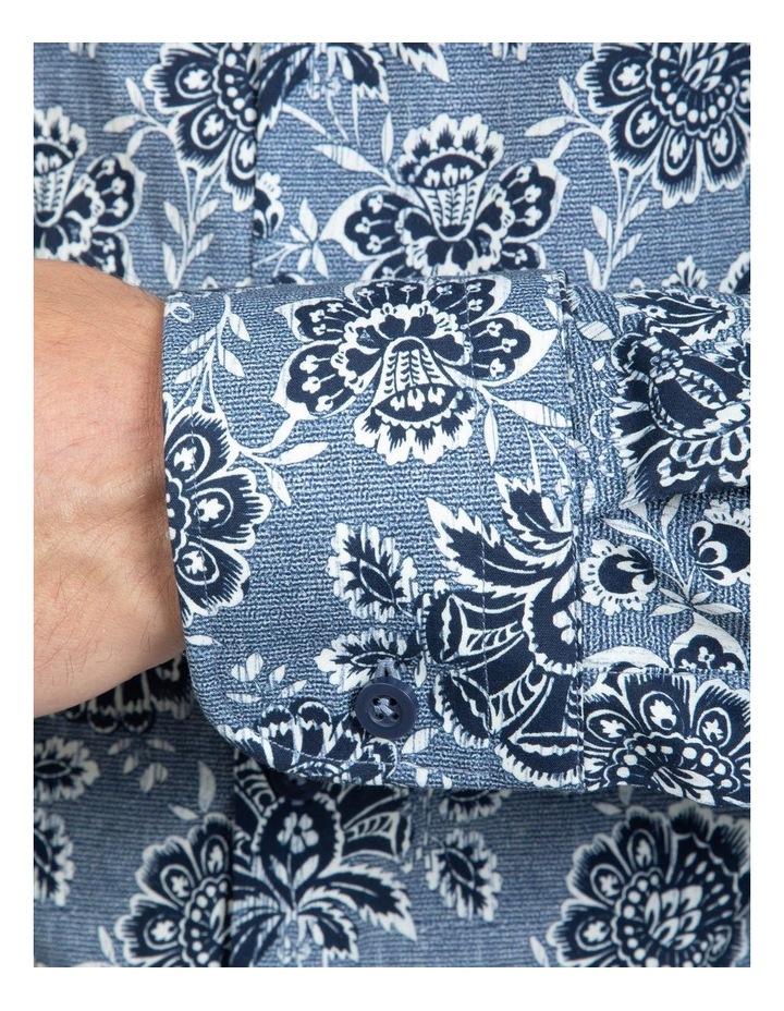Denim Floral Bryson Shirt image 4