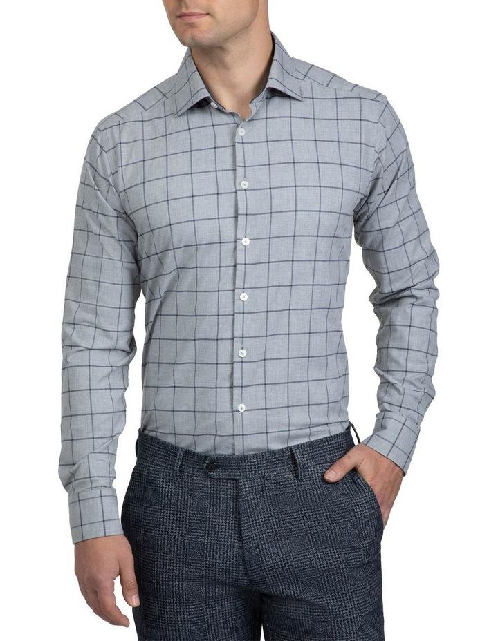 Large Check Grey Bryson Shirt image 1