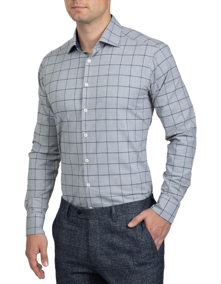 Large Check Grey Bryson Shirt image 2