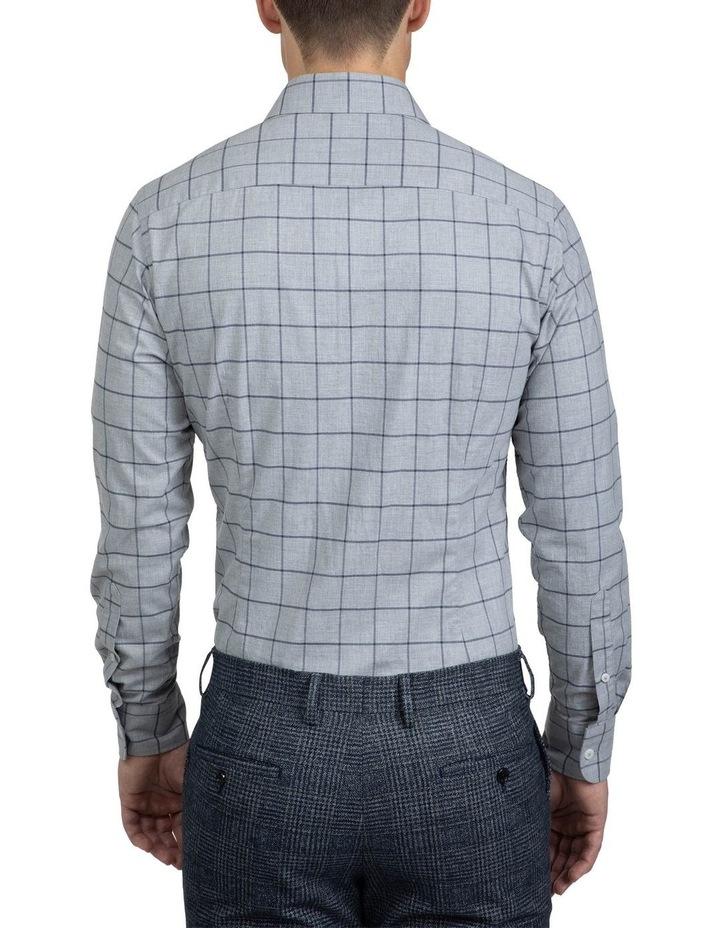 Large Check Grey Bryson Shirt image 3
