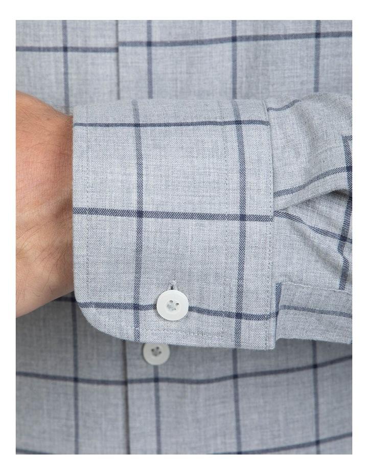Large Check Grey Bryson Shirt image 4