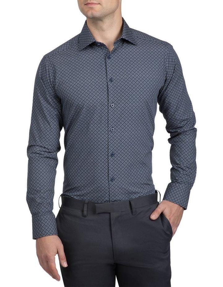 Navy Slim Fit Aquila Bryson Shirt image 1