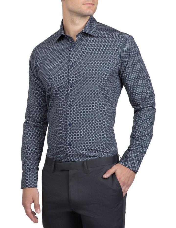 Navy Slim Fit Aquila Bryson Shirt image 2