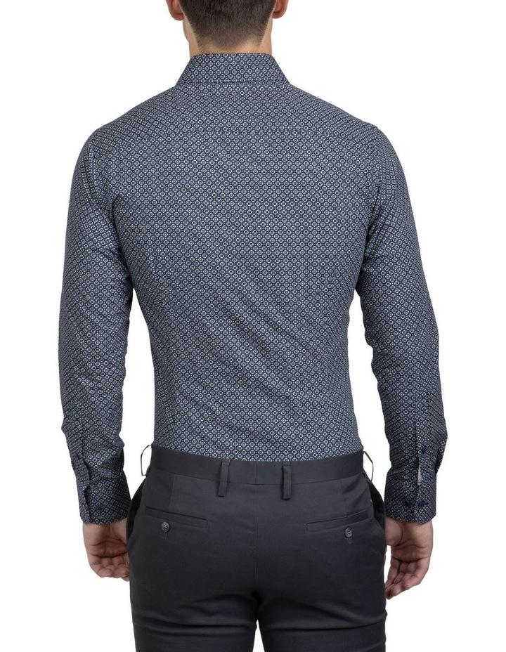 Navy Slim Fit Aquila Bryson Shirt image 3