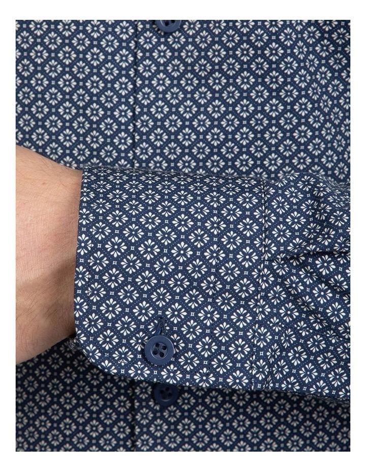 Navy Slim Fit Aquila Bryson Shirt image 4